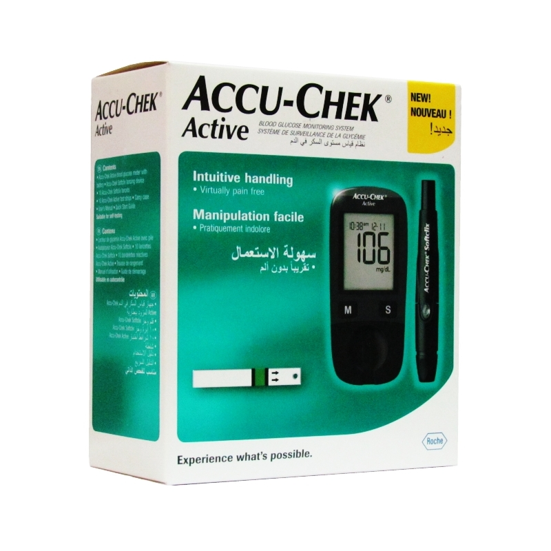 Accu-Chek Active Glucometre - Blood Sugar...
