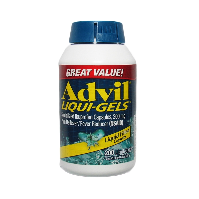 Advil Liqui-Gels Ibuprofen 200mg Ð 200...