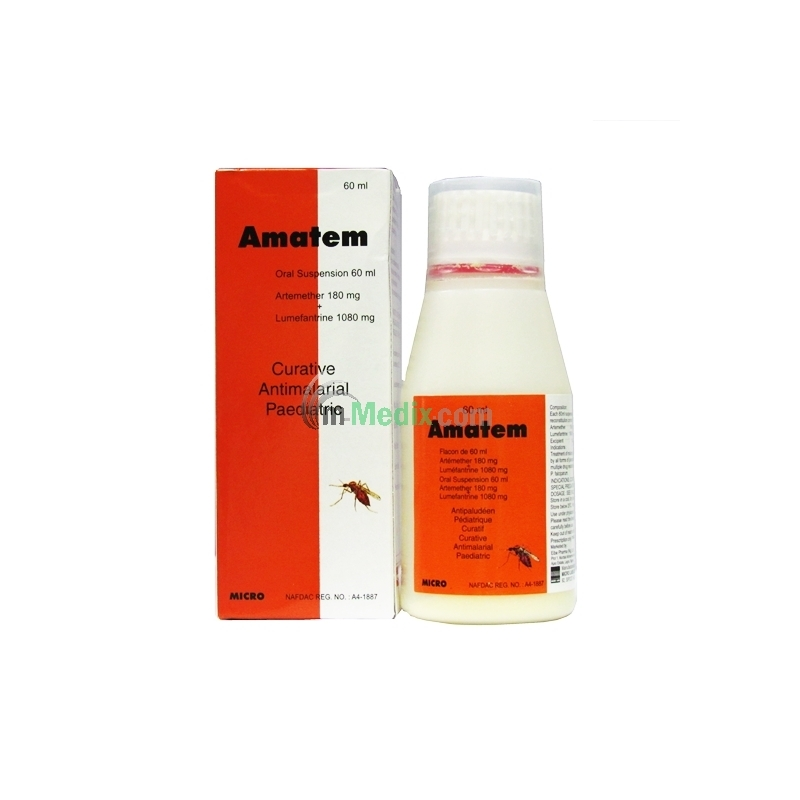 Amatem Oral Suspension - 60ml