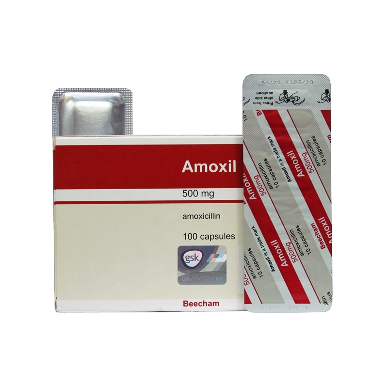 Amoxil 500mg Capsules