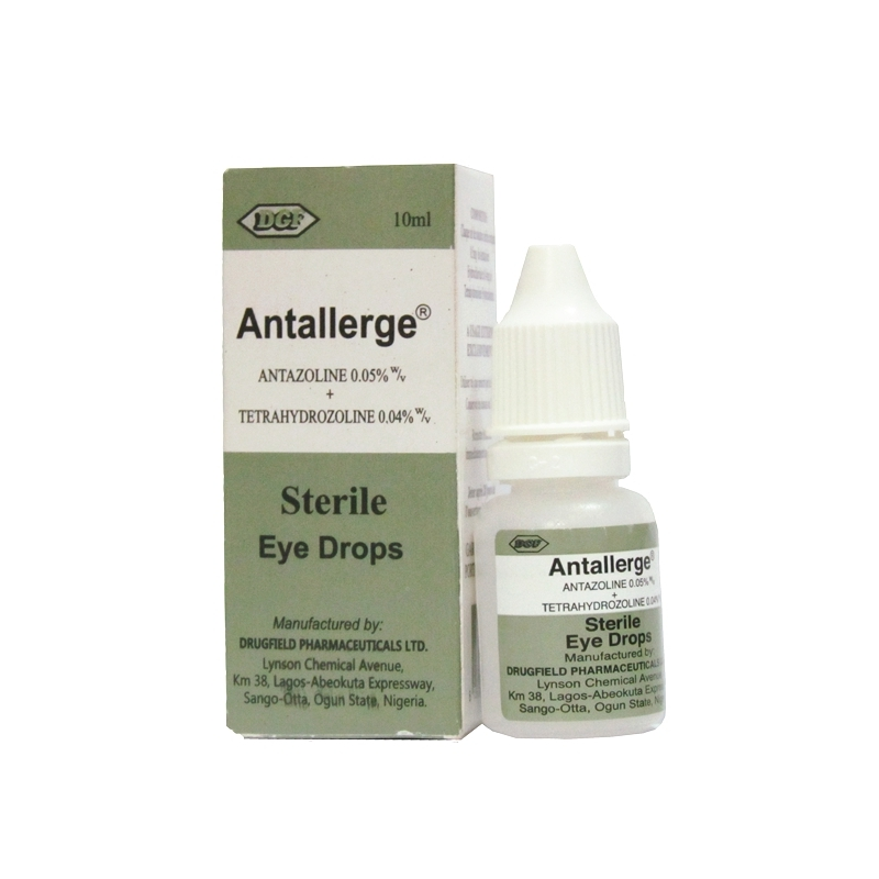 Antallerge 0.5mg Sterile Eye Drop Ð 10ml