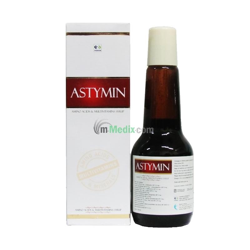 Astymin Amino Acid & Multivitamin Syrup -...