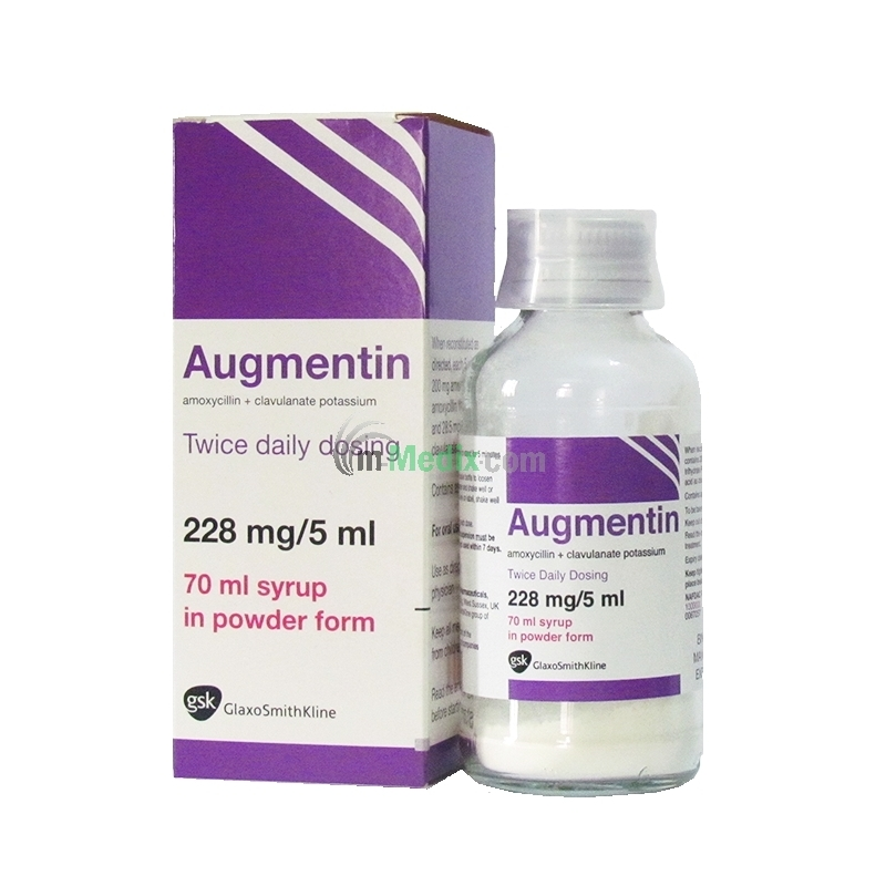 Augmentin 228mg/5ml Syrup - 70ml
