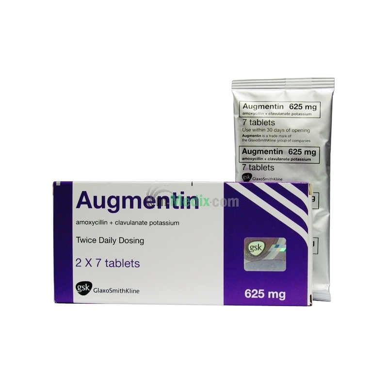 Augmentin 625mg - 14 Tablets