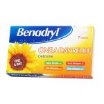 Benadryl Allergy Relief Plus Ð 12 Capsules