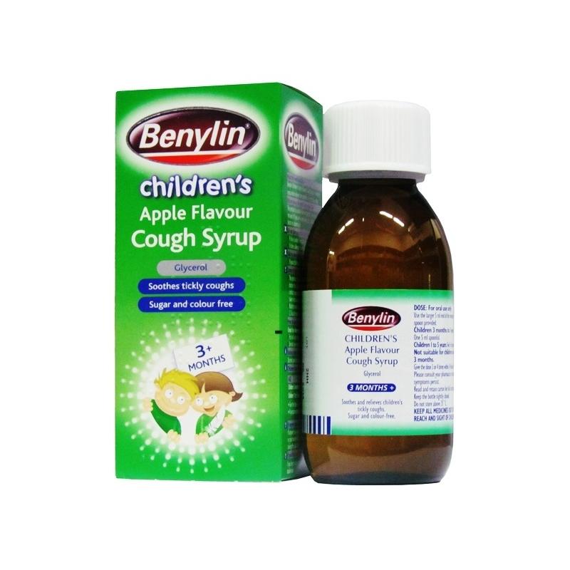Benylin Children's Apple Cough Syrup - 125ml