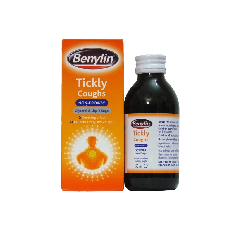 Benylin Tickly Cough Syrup Ð 150ml