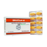 BRUSTAN-N Ibuprofen 500mg - 10 Tablets