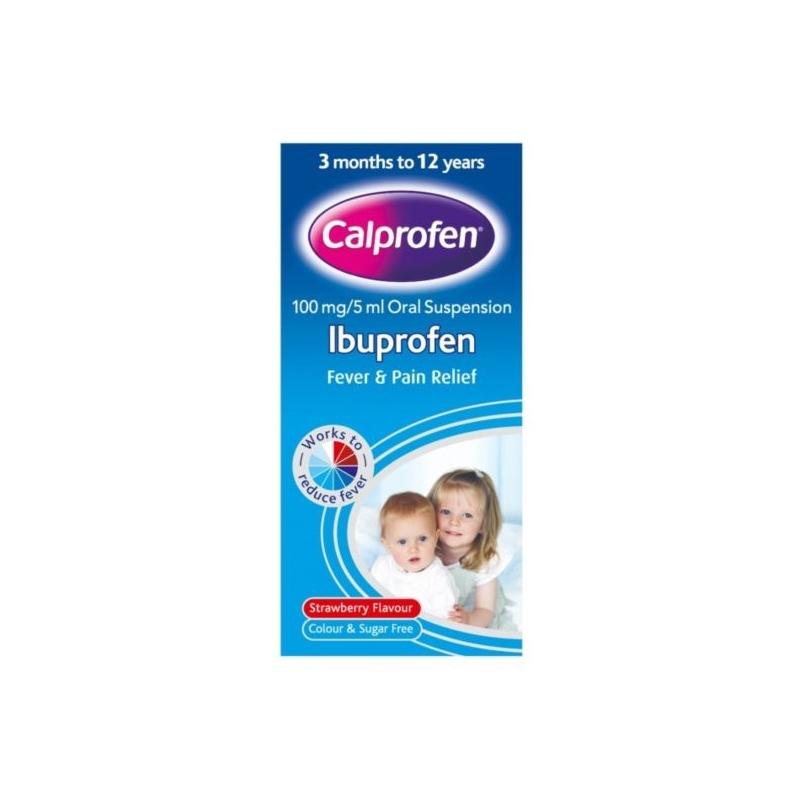 Calprofen Ibuprofen Fever & Pain Relief...