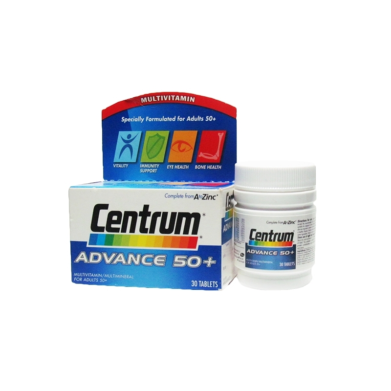 Centrum Advance 50 Plus - 30 Tablets