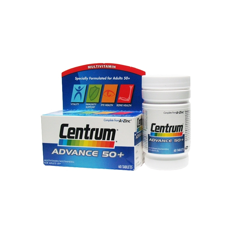 Centrum Advance 50 Plus - 60 Tablets