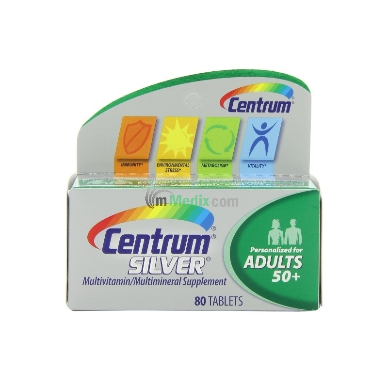 Centrum Silver Adults 50+ Multivitamin -...