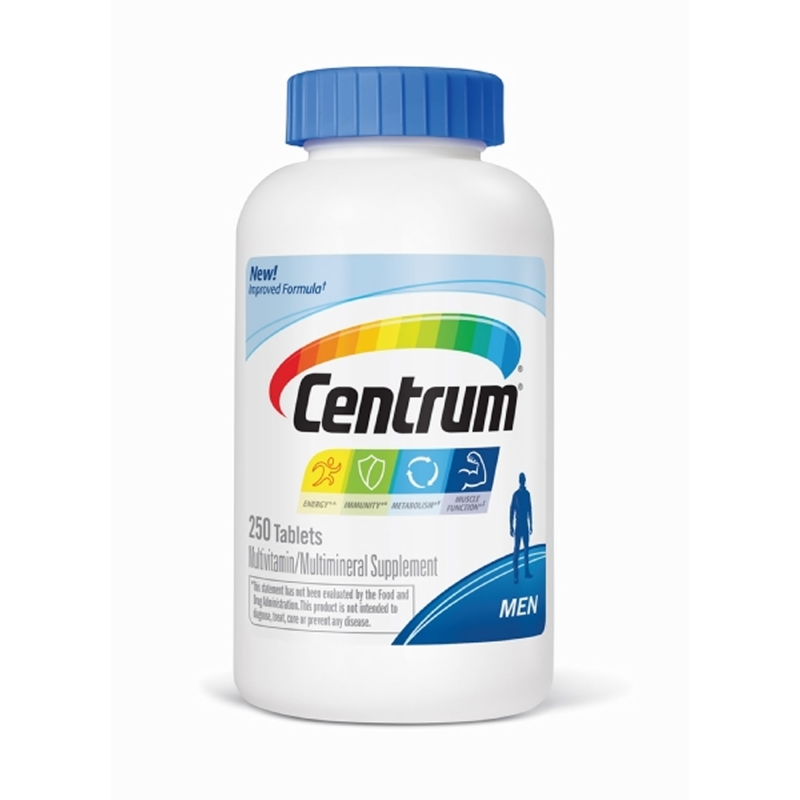 Centrum Silver Men 50+ Multivitamin - 250...