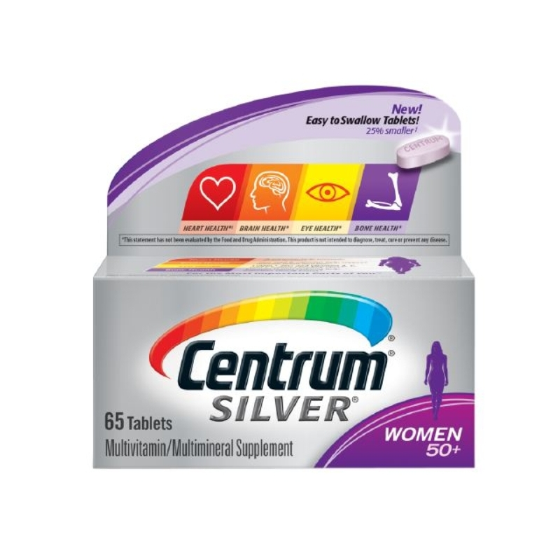 Centrum Silver Women 50+ Multivitamin - 65...
