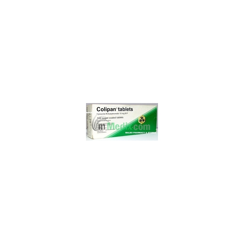 Colipan 10mg Tablets