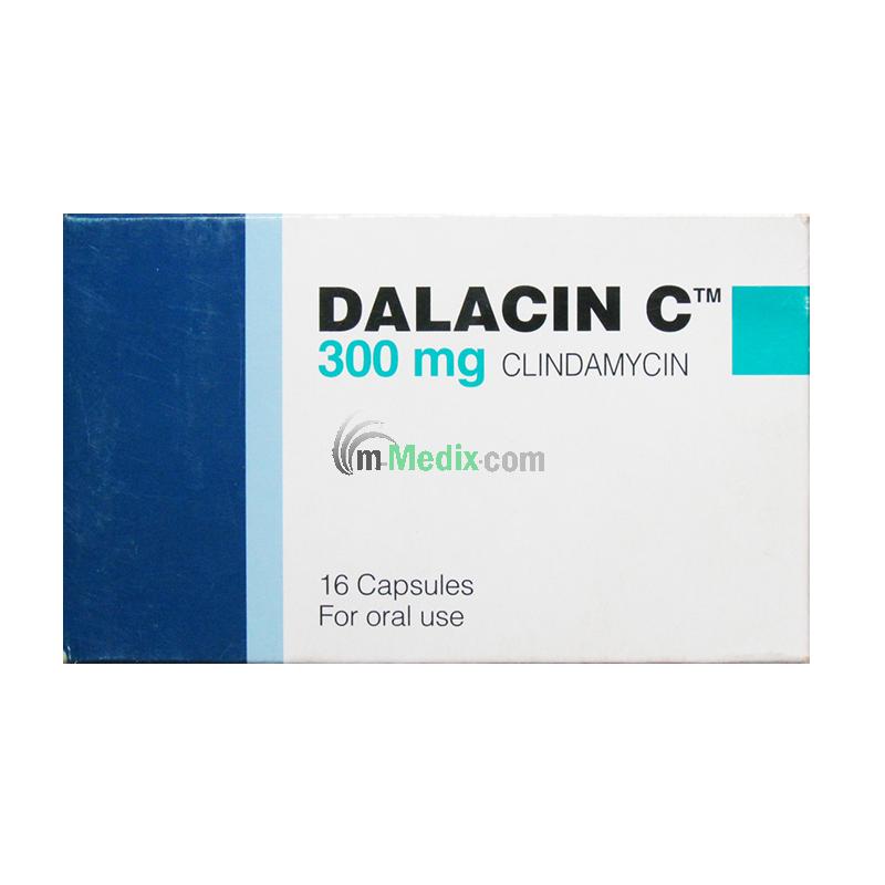 Dalacin C 300mg Ð 16 Capsule