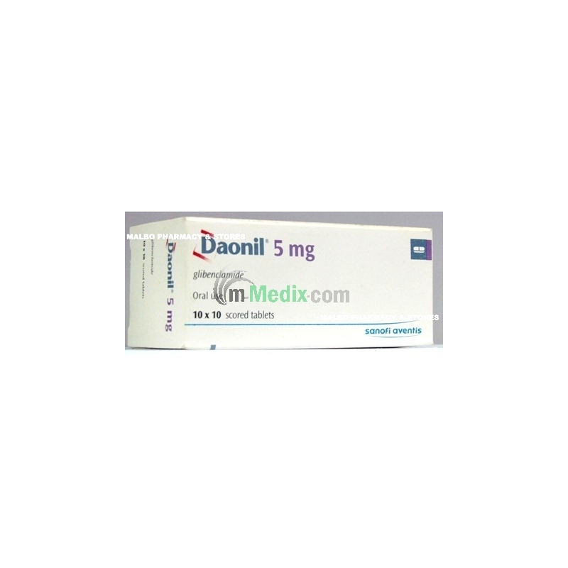 Daonil 5mg Tablets
