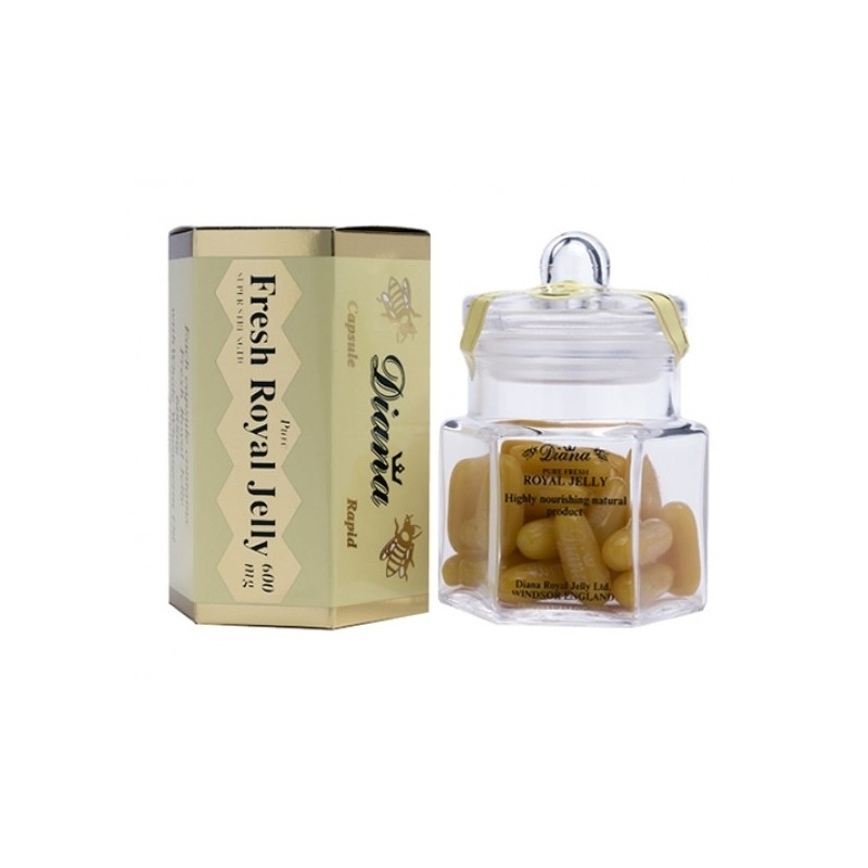 Diana Royal Jelly 600mg - 30 Capsules