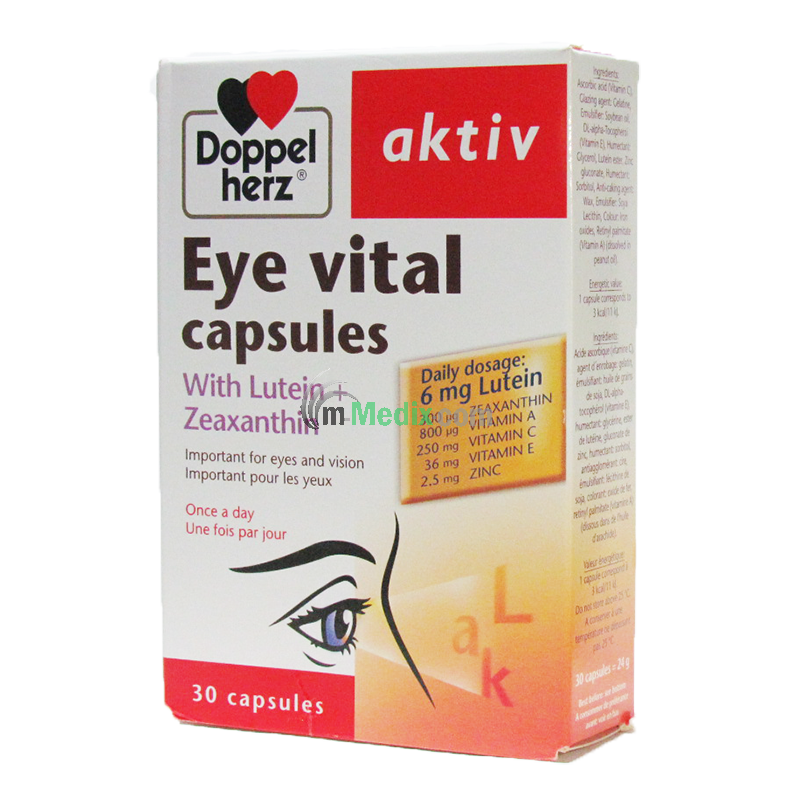 Doppelherz aktiv Eye Vital with Lutein +...