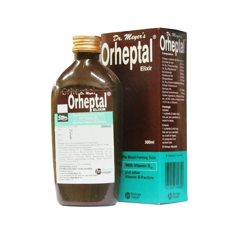 Dr Meyer's Orheptal Elixir - 300ml