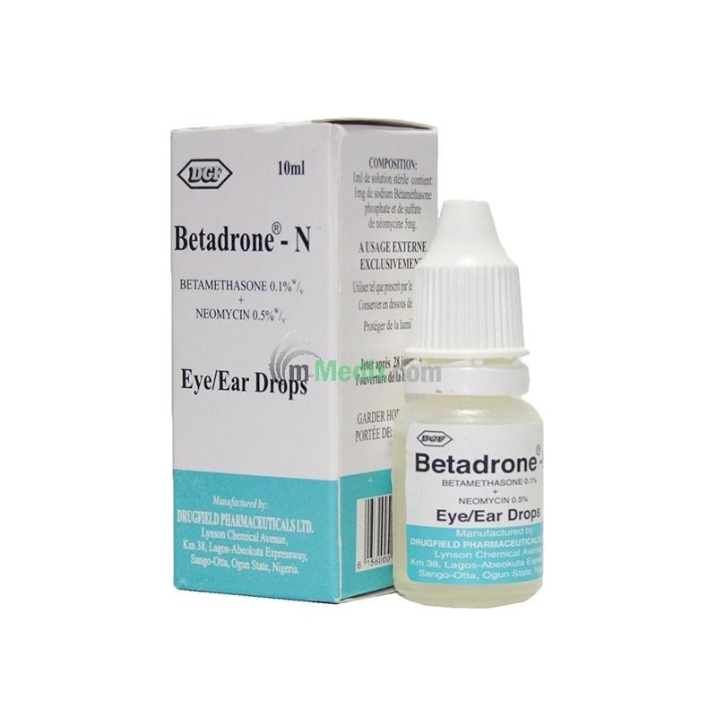 Drugfield Betadrone-N Eye/Ear Drops Ð 10ml