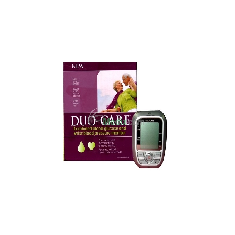 Duo Care - BP & Blood Glucose Monitor