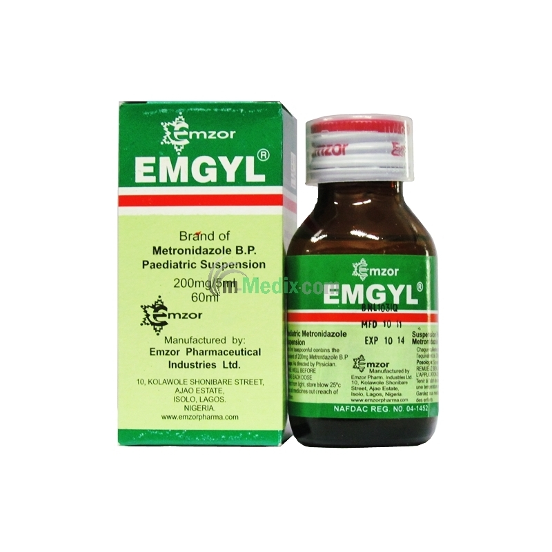 Emgyl Paediatric Suspension - 60ml