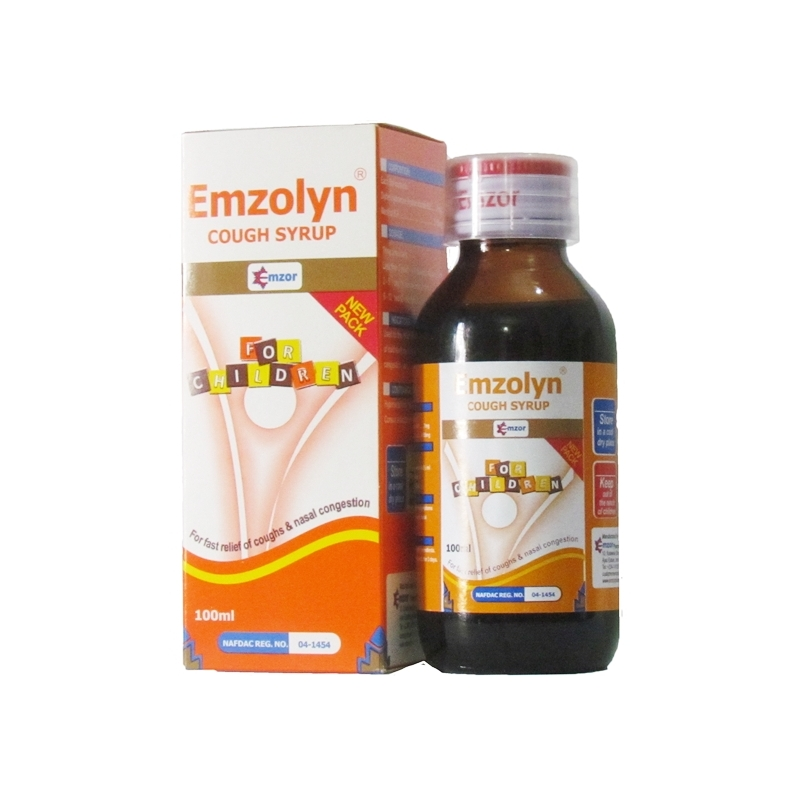 Emzolyn Cough Syrup for Children - 100ml