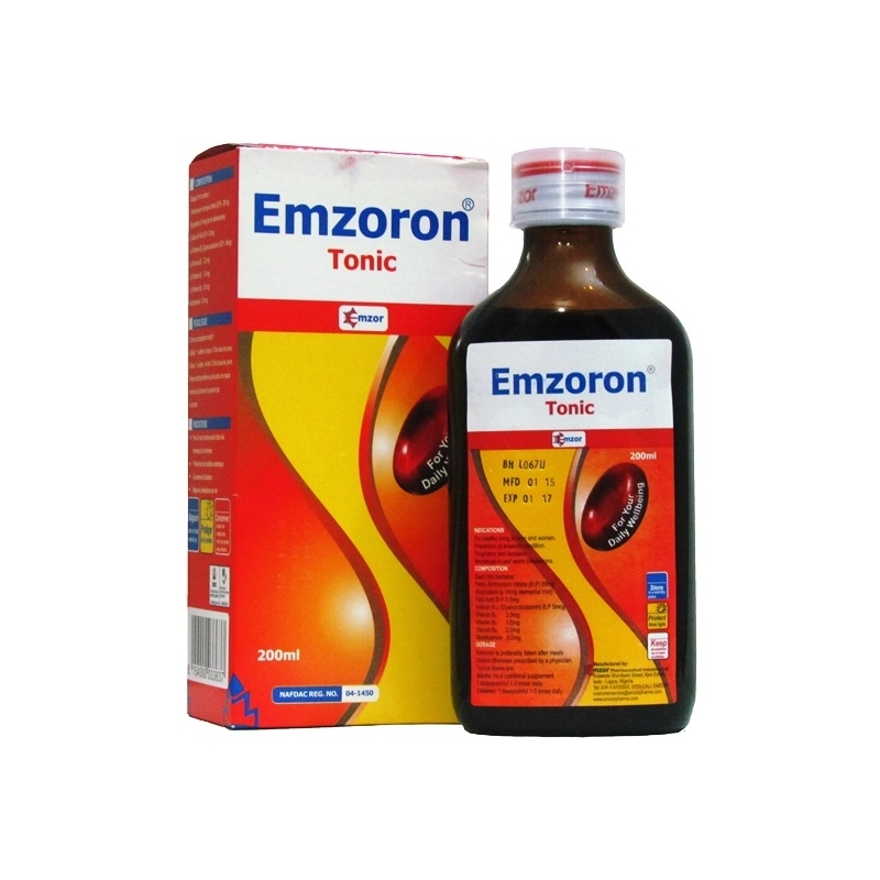 Emzoron Blood Tonic 200ml