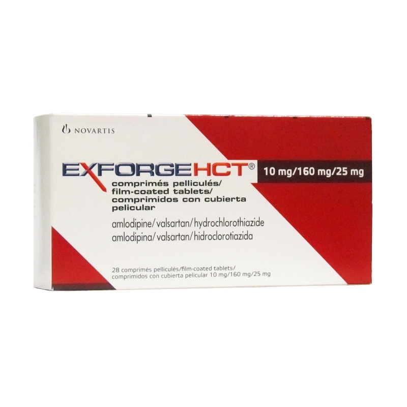 EXFORGE HCT 10mg/160mg/25mg Ð 28 Tablets