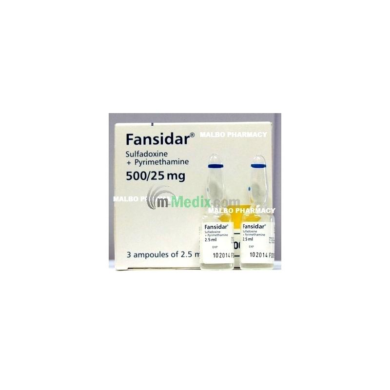 Fansidar Ampoules - 2.5ml