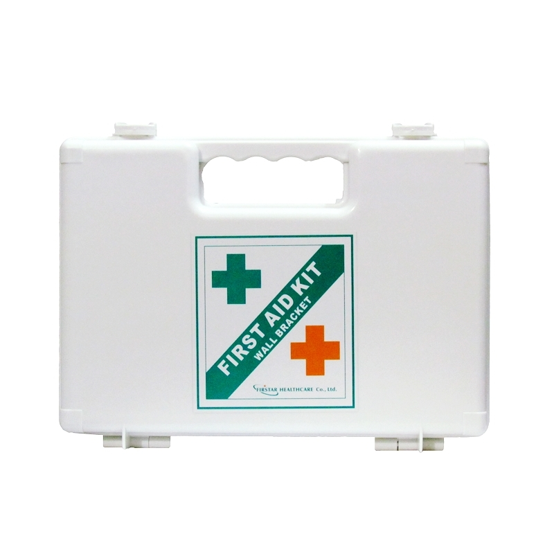 FirstStar First Aid Kit with Wall Bracket