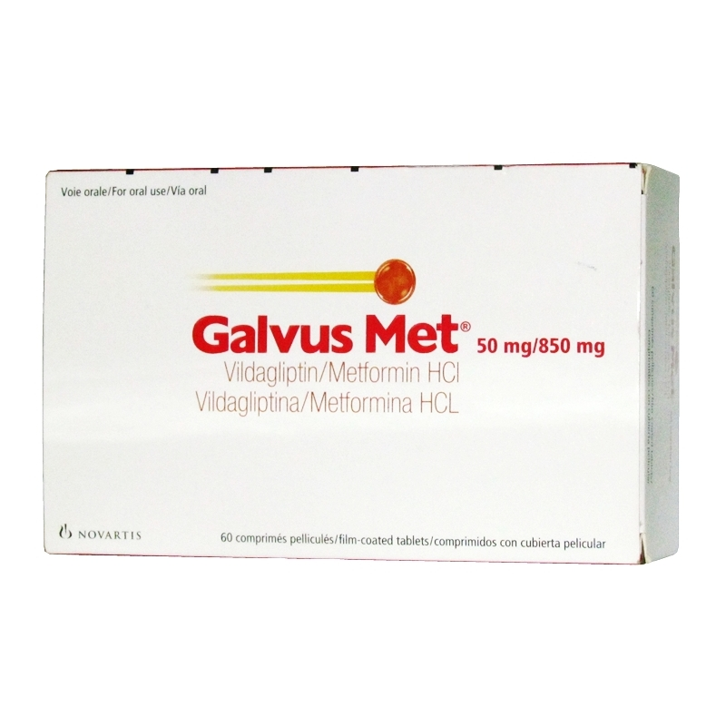GalvusMet 50mg/850mg Ð 60 Tablets