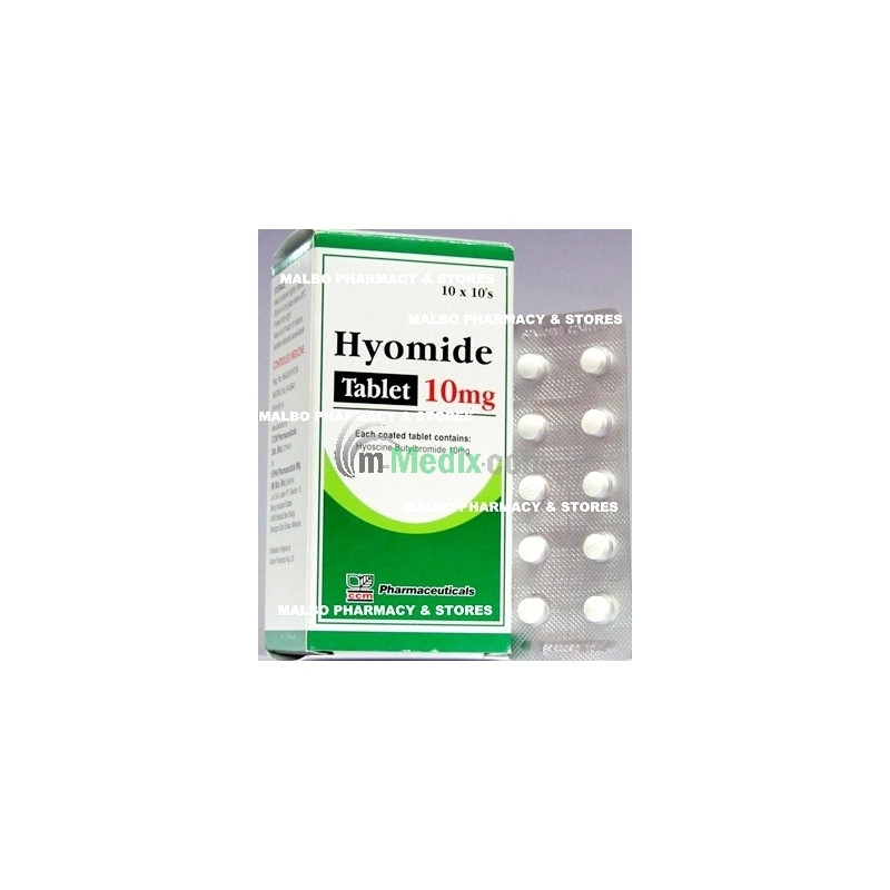 Hyomide 10mg Tablets