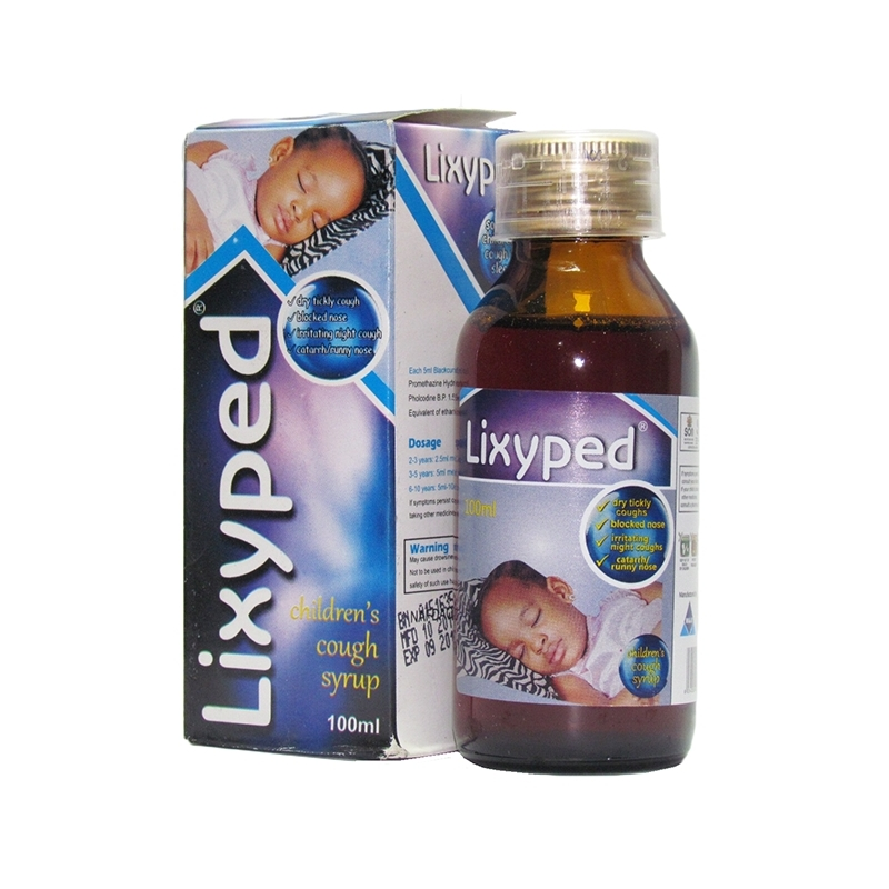 Lixyped Children Cough Linctus - 100ml