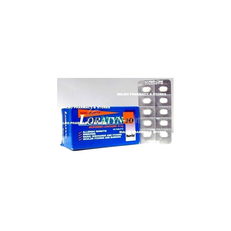 Loratyn- 10 Tablets