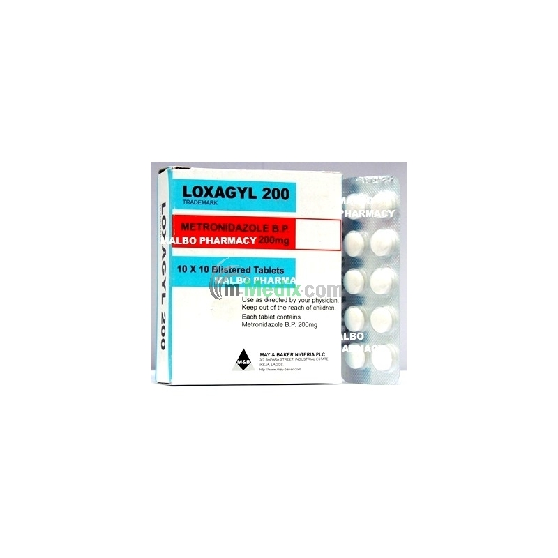 Loxagyl 200mg Tablets
