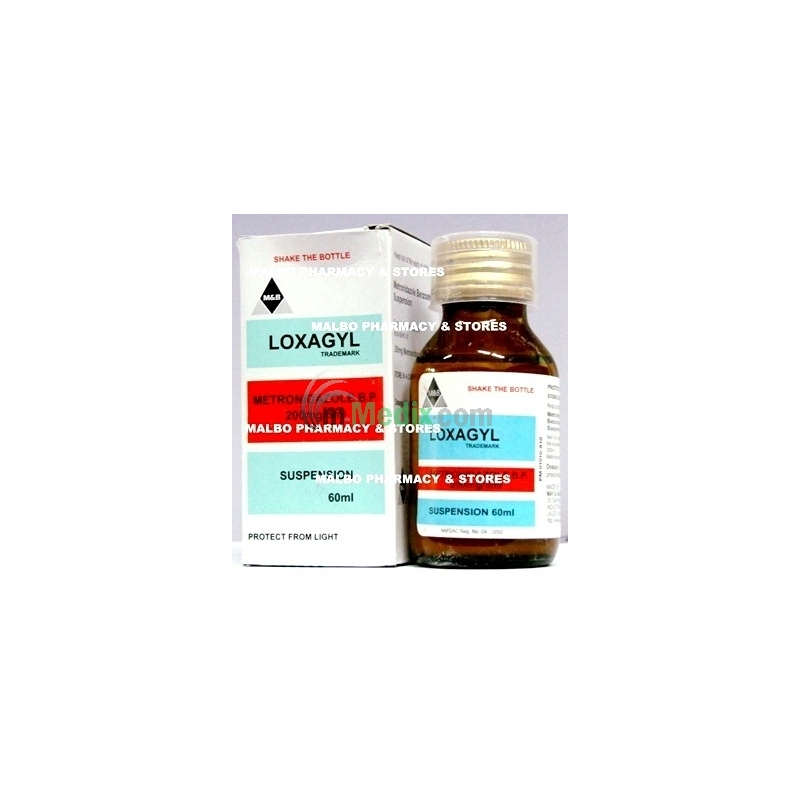 Loxagyl Oral Suspension - 60ml