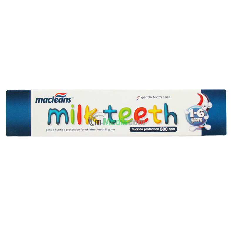 Macleans Milkteeth 1 - 6yrs Toothpaste - 50ml