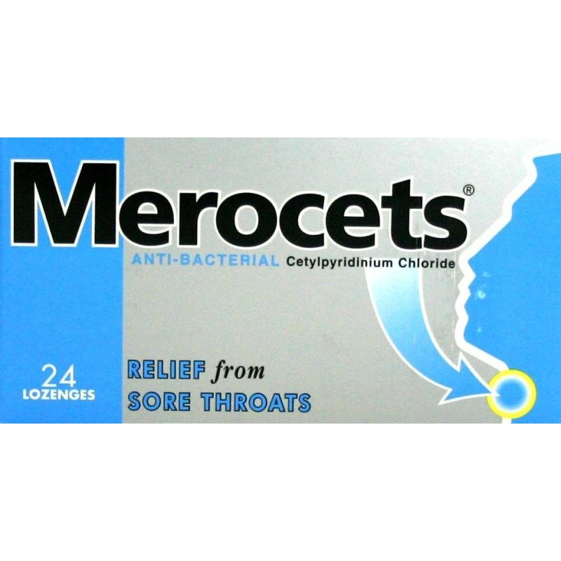 Merocets - 24 Lozenges