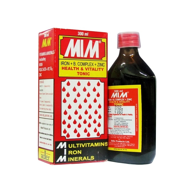MIM Blood Tonic - 300ml