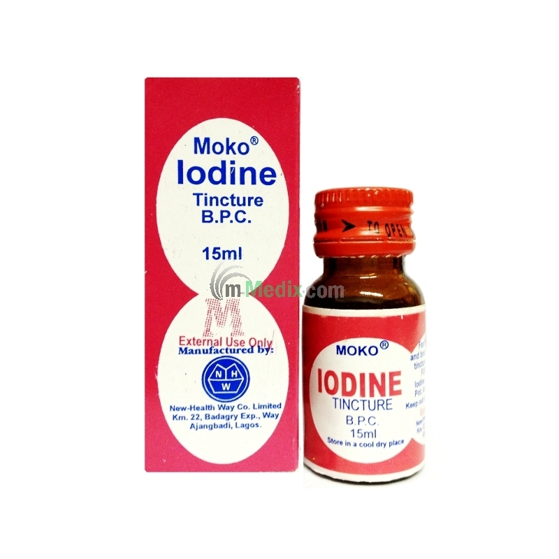 Moko Iodine Tincture B.P.C - 15ml
