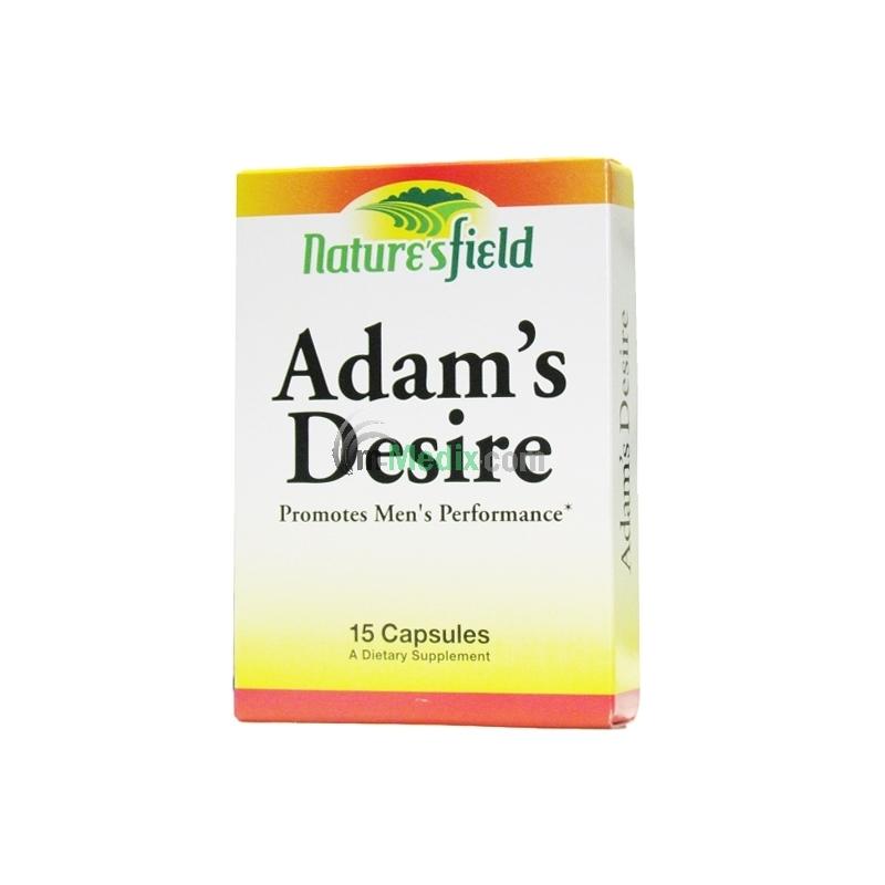 Nature's Field Adam's Desire - 15 Capsules