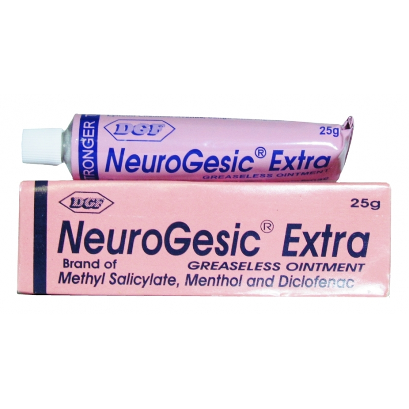 NeuroGesic Extra Greaseless Ointment - 25g
