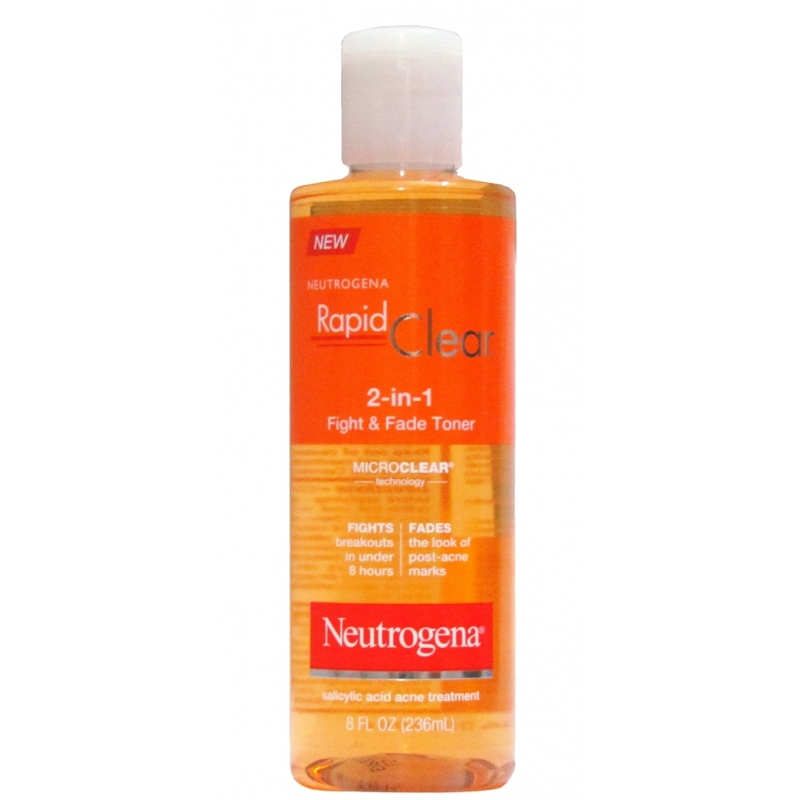Neutrogena Rapid Clear 2-In-1 Fight & Fade...