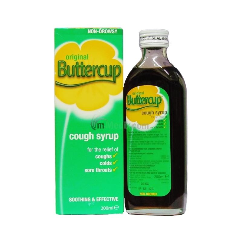 Original Buttercup Cough Syrup