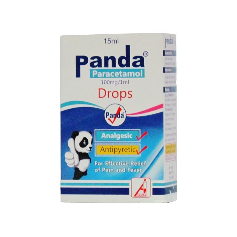 Panda Paracetamol Drops - 15ml