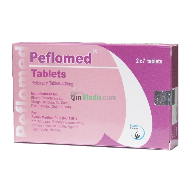 Peflomed 400mg - 14 Tablets