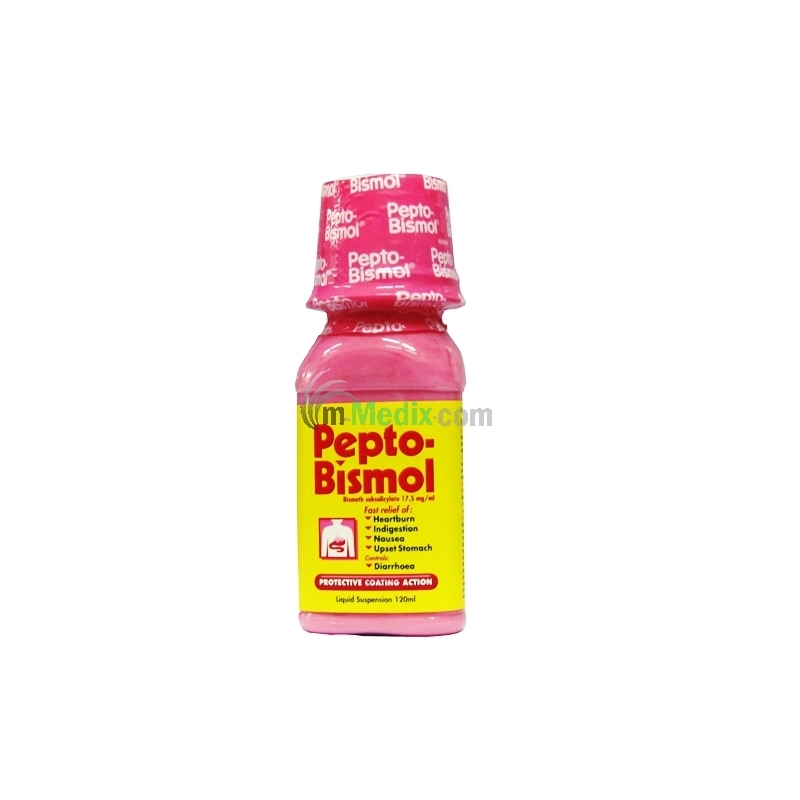 Pepto-Bismol Suspension - 120ml