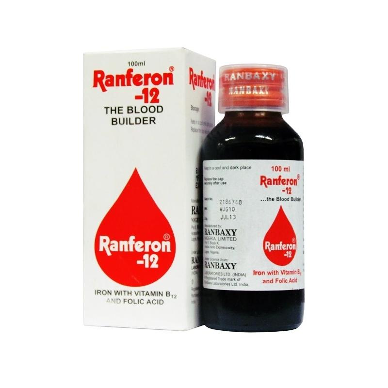 Ranbaxy Ranferon-12 Syrup - 100ml